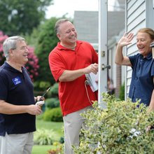 Bergen County candidates stick to an old-fashioned habit and campaign door-to-door