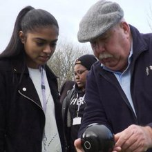 Girls from ethnic minorities are taking up bowls as part of a Sport England initiative
