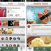 The Insider's Food App: Chefs Feed - MJ Approved