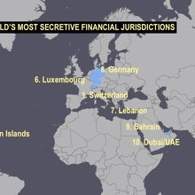Switzerland, the US, HK and Singapore the Most 'Black Money Friendly' Countries
