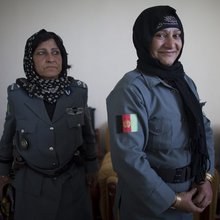 Helmand's most senior policewoman: 'My brother tried to kill me three times' - Telegraph
