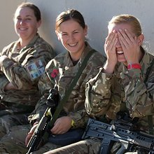 Women To Fight on Front Line