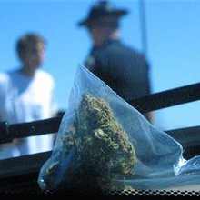 On Idaho border, Ore. marijuana finds its way out