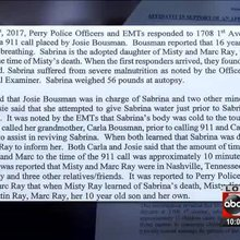 Documents detail moments before Sabrina Ray's death