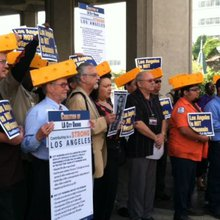 LA City Council approves reduced pension benefits; union threatens lawsuit