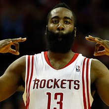 Harden, Rockets Twitter break down Wolves