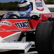 World Champion Mika Häkkinen drives the 1974 Formula 1™ winning car | McLaren Latest News & Fe...