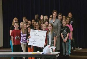 Students Sell Shirts to Help Sandy Victims