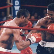 Howard Davis Jr., Olympic gold medalist from Glen Cove, in his biggest fight