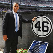 Andy Pettitte joins Yankees' elite in Monument Park with plaque and retired jersey