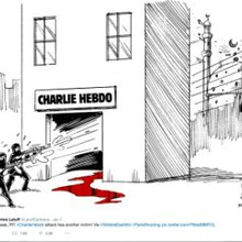 Cartoonists pay tribute to Charlie Hebdo - CNN Video