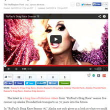 Transmisogyny masquerading as parody: HuffPo's Gay Voices promotes disturbing video from former D...