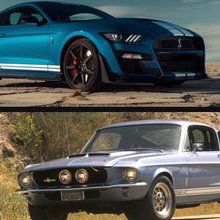 2dc6472dc4 Head to Head  2020 Shelby GT500 vs 1967 Shelby GT500