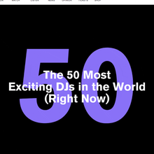 The 50 Most Exciting DJs in the World (Right Now) - #25 - Jubilee