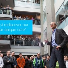 What really had Microsoft CEO Satya Nadella excited during Thursday's earnings report? It wasn't ...