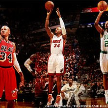 Shooting Three-Pointers With Ray Allen