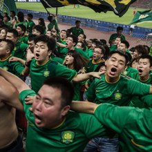 China's dream of soccer world domination