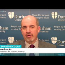 Interview with Thom Brooks from Durham University on Obama's nomination for the Supreme Court