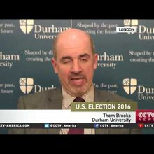 Law professor Thom Brooks on the primary race