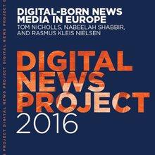 Digital-born news media in Europe (France, Spain, UK, Germany)