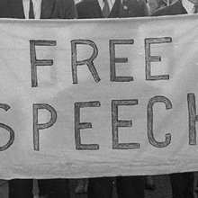 "There is no ""but"" after ""freedom of speech."""