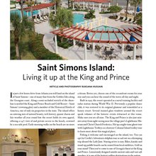 St Simons Island - Living it up at the King and Prince