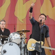 My City of Spirits: Bruce Springsteen Jams With Dr. John at Jazz Fest