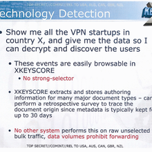 NSA's Internet taps can find systems to hack, track VPNs and Word docs