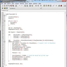 Prime Minister of Singapore shares his C++ code for Sudoku solver