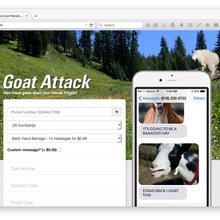 Baaad attitude: Prank-messaging friends (and enemies) with Goat Attack [Updated]