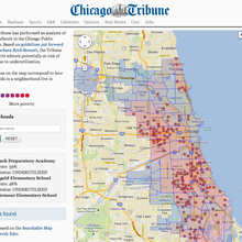 CPS School Building Closings -- Chicago Tribune
