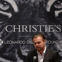 People Watching At Leonardo DiCaprio's Auction