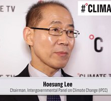 Dr Hoesung Lee Chair of IPCC calls for urgent action in exclusive Climate TV interview