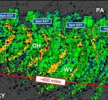 Derecho: Behind Washington, D.C.'s destructive thunderstorm outbreak, June 29, 2012