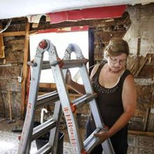Rochester home renovation project reveals remnants of 19th century log cabin