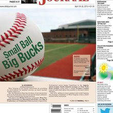 Small ball - Big bucks: West Virginia's baseball business has a trickle-down effect for several c...