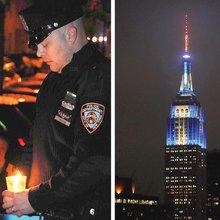 Long Island City honors fallen cops