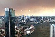 Smoke Shrouds Sydney Skyline as Bushfires Burn Across State