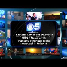 CBS 5 News at 10 Promo, May 2013