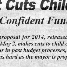 Mayor Makes 2014 Child Care Cuts