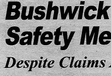 Bushwick Officials Clarify: Safety Meetings Are Public