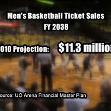 UO's Matthew Knight Arena changes financial projections