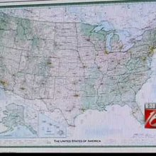 Cartographer Dave Imus celebrates overnight success with new take on map of U.S.A.