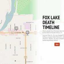 Timeline: Suspicious Fox Lake death