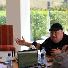 Face to face with Kim Dotcom as he launches Mega, talks about Megakey and the future of free cont...