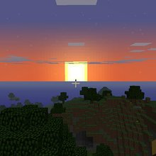 A Journey to the End of the World (of Minecraft)