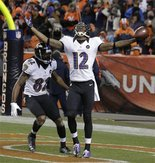 Abramson graduate Jacoby Jones made the most of his chance in stunning Ravens' victory
