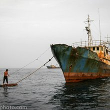 Happiness: The Chinese zombie ships of West Africa