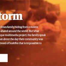 """Telling the story of Firestorm"" - Jon Henley & Robin Beitra at Hacks/Hackers London"