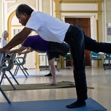 War-torn veterans, their dreams, and a yoga instructor